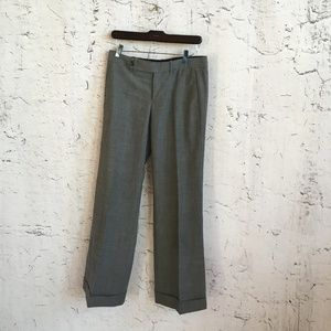 GAP GREY TROUSERS WOOL BLEND
